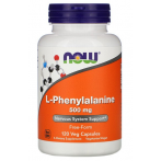 Now Foods L-Phenylalanine 500 mg L-Fenilalanīns Aminoskābes