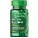 Puritan's Pride Selenium 200 mcg