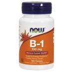 Now Foods Vitamin B-1 Thiamine 100 mg