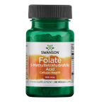 Swanson Folate 5-Methyltetrahydrofolic Acid 800 mcg